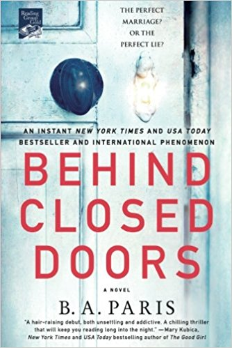 Review: Behind Closed Doors – B.A. Paris